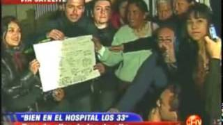 Carola en el hospital de Copiapó.