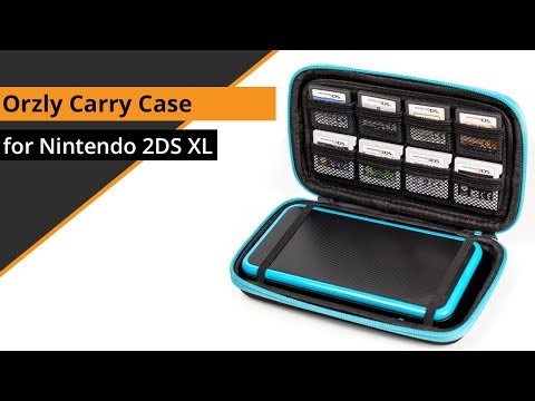 Orzly - Carry Case for Nintendo 2DS XL: Quick look, Review & Test