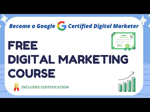 Free Digital Marketing Course with Certificate   Digital Marketing ...