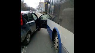Accident stupid în Capitală