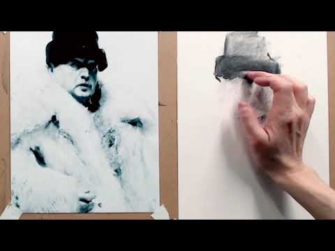 A full drawing tutorial about copying an old master portrait.