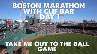 Boston Marathon 2016-Day 1-Take Me Out To The Ball Game