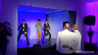 Jennifer Hudson surprises gay couple at Dallas wedding