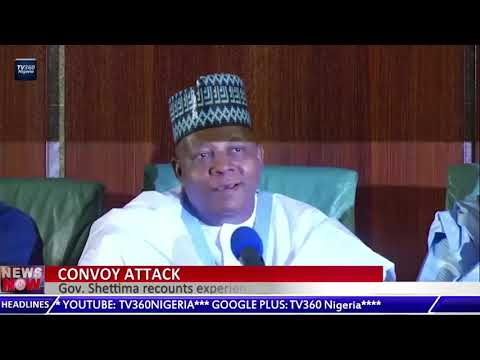 Governor Shettima recounts experience with insurgents