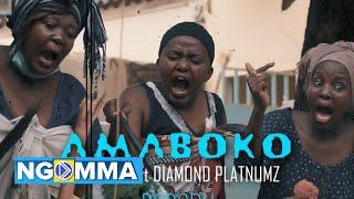 RAYVANNY Ft DIAMONDPLATNUMZ - Amaboko (parody) MA MBOKO   PADI WUBONN