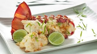 Sautéed Rock Lobster with Garlic and Lime