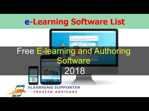 Free eLearning Authoring Software