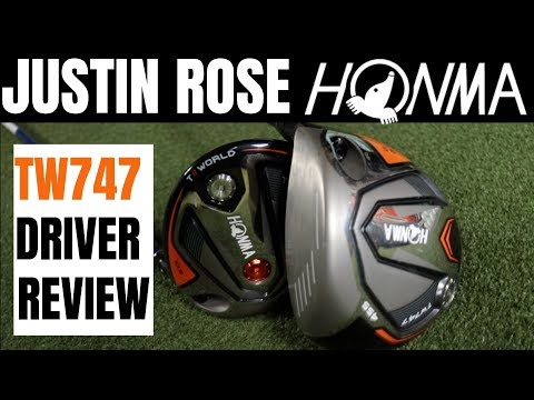 Justin Rose HONMA TW747 Driver Review - James Robinson Golf