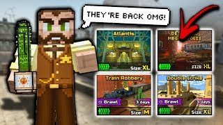 OLD MAPS HAVE RETURNED!!! | Pixel Gun 3D - New Update 15.5.0 [Review]