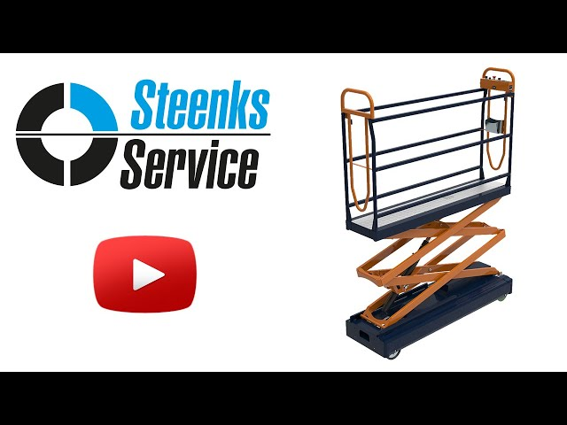 YouTube video | Pipe rail trolley Benomic S350 2 scissor