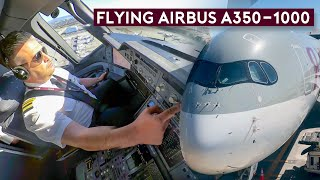 Flying the Largest Airbus Twin – A350-1000 Qatar Airways