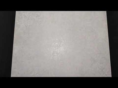 Gres szkliwiony STORMY white carpet mat 59,3x59,3 gat. I