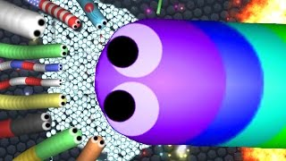 47K+ MASS EVERYONE WANTS TO KILL ME! - Slither.io Top Player Highscore (Slither.io Hack / Mod)