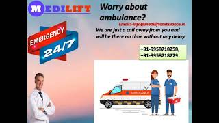 Quick Medical Ambulance Service in Kidwaipuri by Medilift