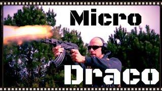 Micro Draco Romanian AK47 Pistol Review HD