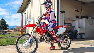 Took The Honda CR125 For A Rip On The Motocross Track!