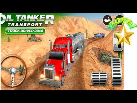 Off-road Oil Tanker Driver Transport Truck 2019, BeamNG Drive, Free Games For Kids Full Hd
