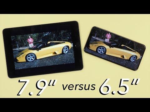 iPad Mini vs iPhone XS Max: Real-life screen differences