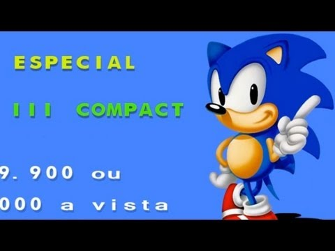 Sonic the Hedgehog 2 Brazilian Tec Toy Promo - HD remake (HiSMS)