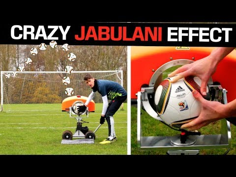 What happens If you shoot a Jabulani from a Ball Launcher?
