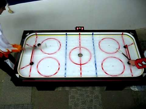 Real Ice Hockey Game Table