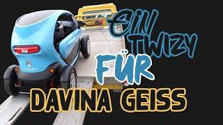 Prior Design   Auto für Davina Geiss   Renault Twizy 100% Elektro   Das Projekt beginnt...