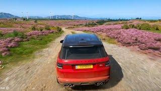 Forza Horizon 4 - Land Rover Range Rover Sport SVR 2015 - Open World Free Roam Gameplay HD