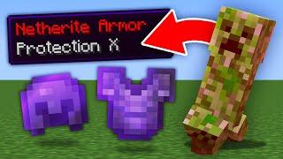 Minecraft, But Mobs Drop OP Items...