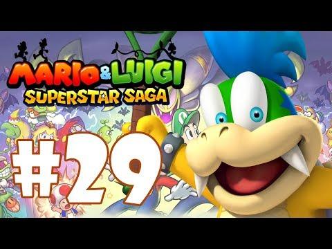 Mario And Luigi Superstar Saga Bowsers Minions Walkthrough