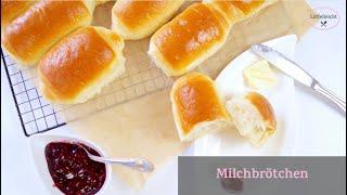 Weiche Milchbrötchen Selber Backen - Super Weich - Dinner Rolls