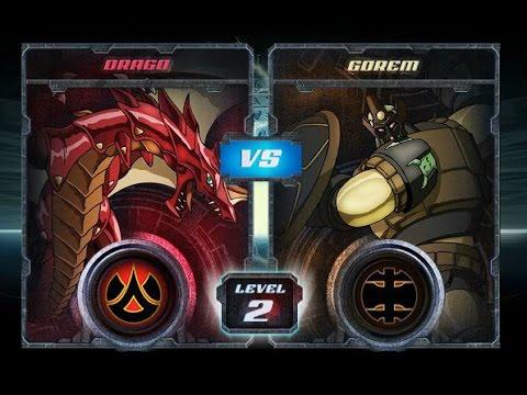 Bakugan Final Brawl: Drago vs Gorem