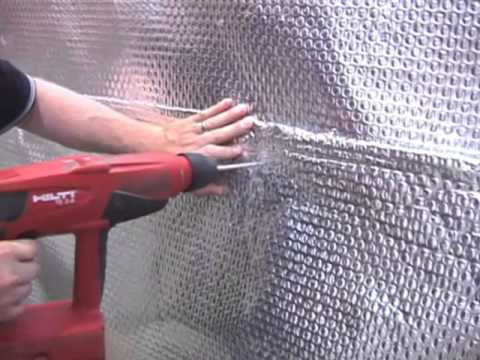 Our ThermalDry Wall System!