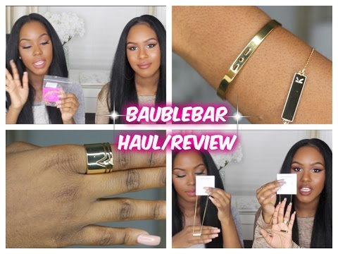 BaubleBar Jewelry Haul/Review