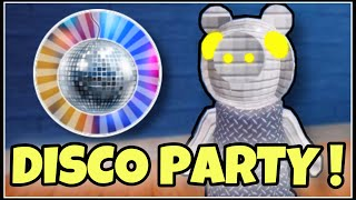 "How To Get ""DISCO PARTY"" BADGE + DISCO PIGGY MORPH 