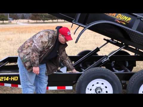 2017 Doolittle Master Dump 7200 Series 10000 lb. Tandem Axle 10 ft. in Sacramento, California - Video 1