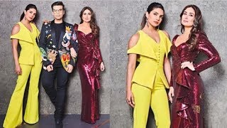 Priyanka Chopra & Kareena Kapoor TOGETHER On Koffee With Karan Season 6