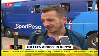 Toffees arrive in Kenya | Scoreline