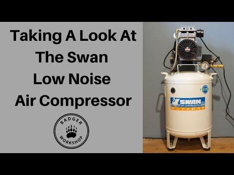 Swan 30 litre Low Noise Air Compressor