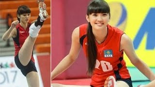 "Sabina Altynbekova 17 Year Old ""Too Beautiful"" to Play Volleyball @Hodgetwins"