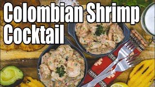 Colombian Shrimp Cocktail (ceviche)