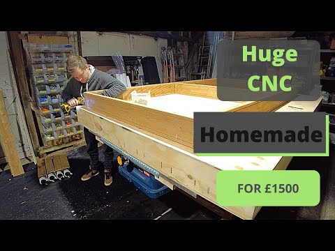 Enormous CNC Router Uses Clever Tricks to Improve Performance
