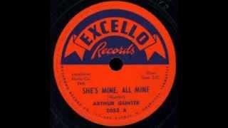Arthur Gunter - She's Mine,All Mine