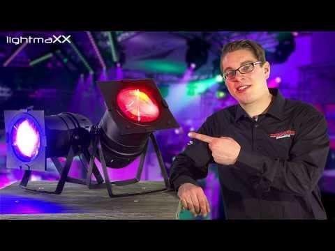 lightmaXX COB LED Par 56 / 64 Licht Effekt
