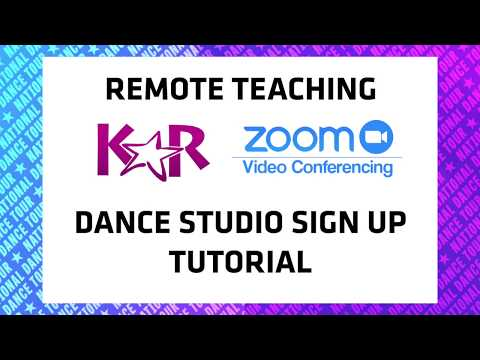 KAR + Zoom Tutorial - Dance Studio Classes Online
