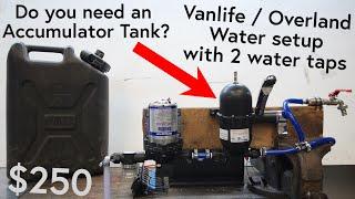 DIY Water System for Overlanding or Vanlife, Shurflo Trail King 7
