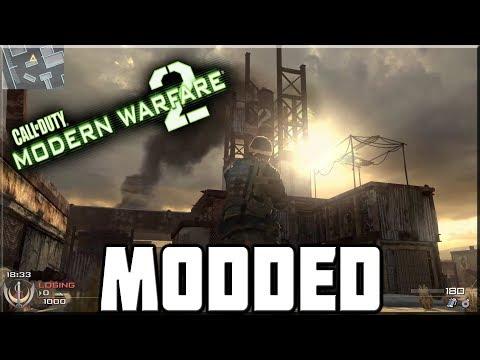 PLAYING THE MODDED MODERN WARFARE 2! (IW4x) - Free video