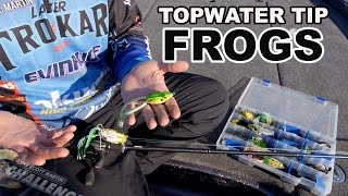 Exclusive Topwater Fishing Tip: How to Fish a Frog - What you need to know