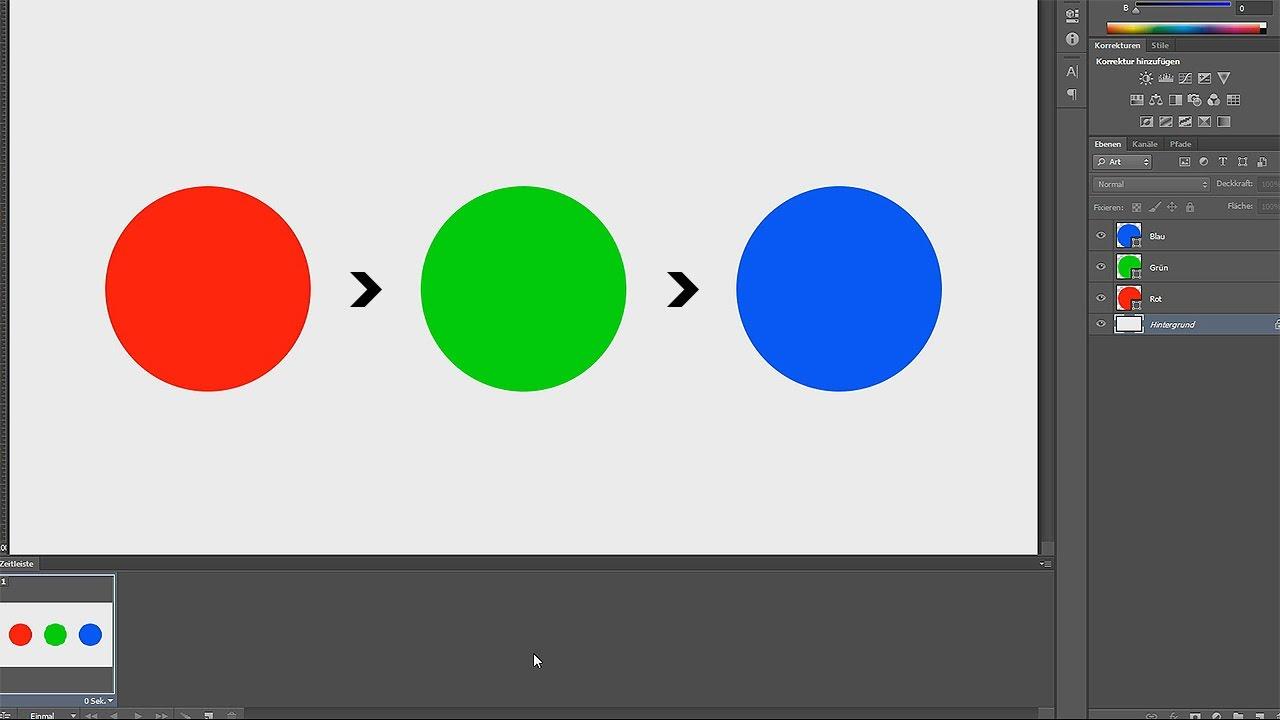 GIF-Animation erstellen – Photoshop-Tutorial