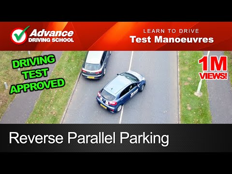 Reverse Parallel Parking Manoeuvre  |  New UK Driving Test