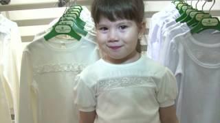 Снег. Детская одежда на выставке CPM